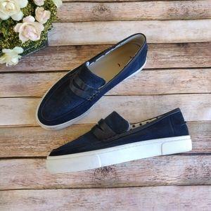 Ellen DeGeneres Blue Farley Love Sneakers Loafers
